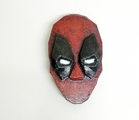 Deadpool brooch 3D Print 26043