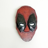 Small Deadpool brooch 3D Printing 26043