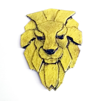 Small Lion brooch 3D Printing 26045