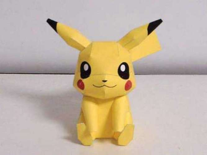 Pikachu Cookie cutter 3D Print 26063