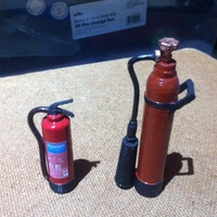 Small Scale 1/10 fire extinguisher 3D Printing 26067