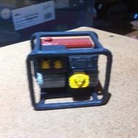 Small Scale 1/10 petrol generator 3D Printing 26068