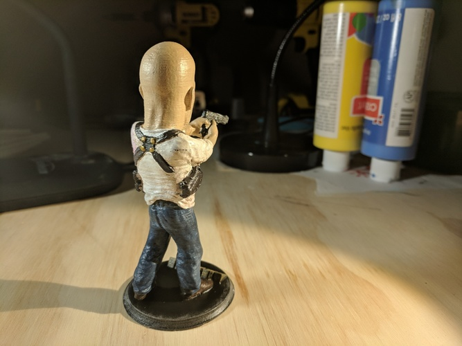 Bruce Willis DIE HARD 3D Print 26080