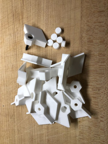 Nanoleaf Mounts 3D Print 26103