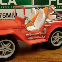 Small beach jeep 3D Printing 26156