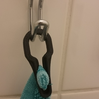 Small Towel holder 3D Printing 26411