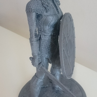Small Lagertha 3D Printing 26431