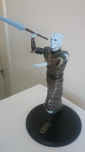 Night King Pole Pose 3D Print 26435