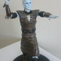 Small Night King Pole Pose 3D Printing 26437