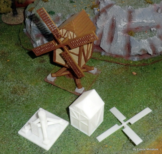 Windmill - Wargame medieval to napoleonic 3D Print 26449