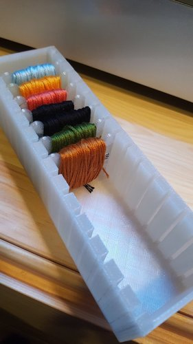 Embroidery Floss Organizer 3D Print 26458