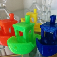 Small #3DBenchy - The jolly 3D printing torture-test 3D Printing 2649