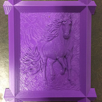 Small Framed Horse 3D Printing 26518