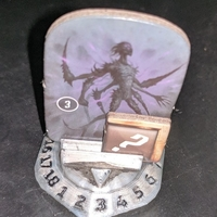 Small Gloomhaven monster base 3D Printing 26664
