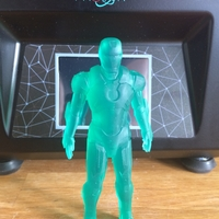 Small Iron Man Mark 7 3D Printing 26665