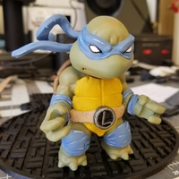 Small Chibi Mutant Ninja Turtle...the First!! 3D Printing 26678