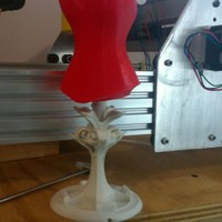 Small Vintage Jewelry stand 3D Printing 2669