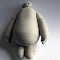 Small BIG HERO 6 - BAYMAX 3D Printing 2671