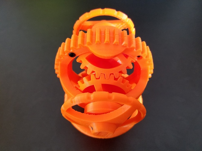 Spherical Differential 3D Print 26716