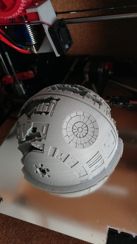 Death Star Wall Lamp (Star Wars) 3D Print 26810