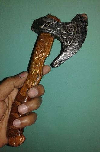 Battle Axe 3D Print 26901