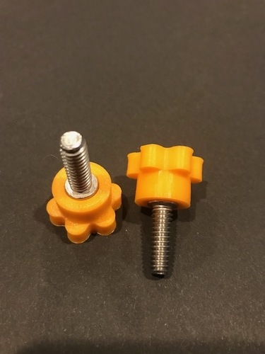 Knob for 1/4-20 socket head cap screw 3D Print 26930