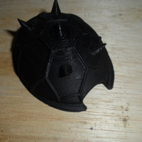 Small Spike shell  3D Printing 2694