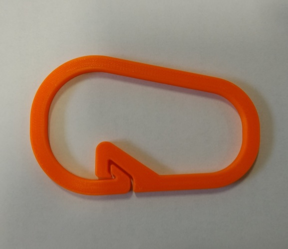 Claw Carabiner (part of Med Kit) 3D Print 26965