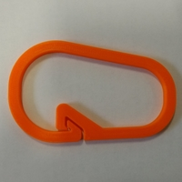 Small Claw Carabiner (part of Med Kit) 3D Printing 26965