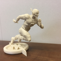 Small The Flash 3D print model 3D Printing 27087