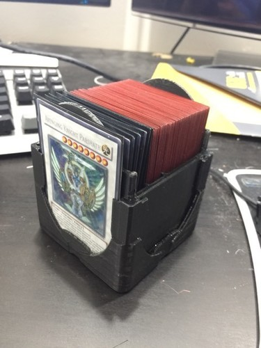 The Cube Deck Box - Top Loader, 60+20+20 For Force of Will 3D Print 27117