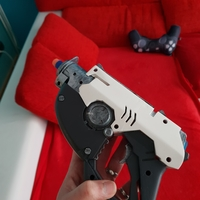 Small Overwatch Tracer Pulse gun NERF mod 3D Printing 27120
