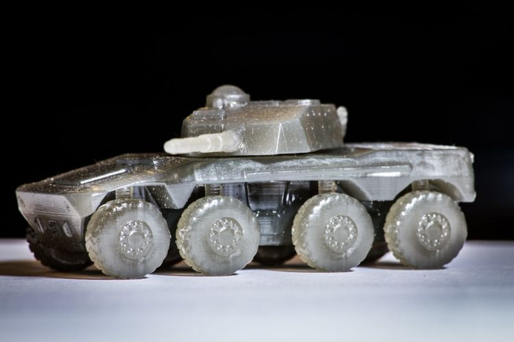 Rooikat Amourd Car( Wargame ) 3D Print 27152