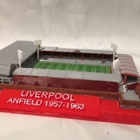 Small Liverpool - Anfield 1957 3D Printing 27214