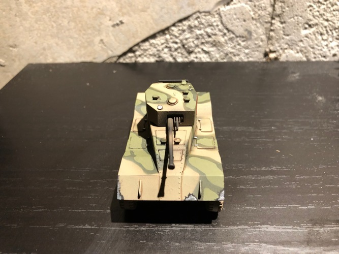 BRITISH ARMORED CAR, HEAVY, WWII 3D Print 27234