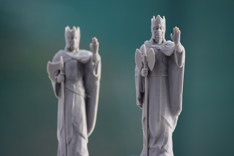 Argonath - The Lord of the Rings Online 3D Print 27409