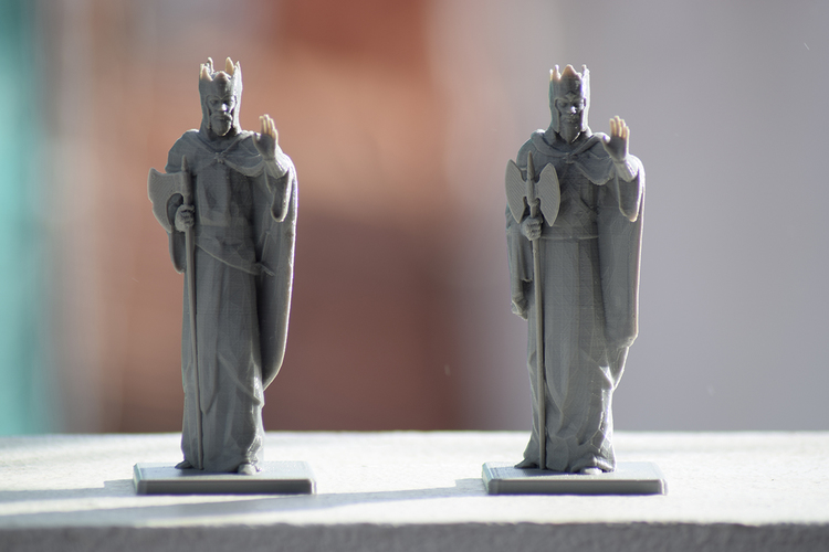 Argonath - The Lord of the Rings Online 3D Print 27410