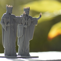 Small Argonath - The Lord of the Rings Online 3D Printing 27411