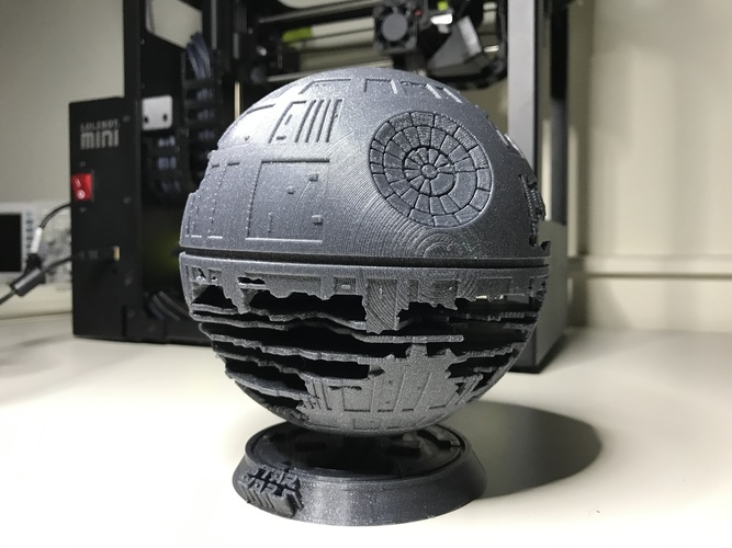 Death Star HQ (Star Wars) 3D Print 27472