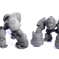 Small G-Tron (Maker Tron Contest ) 3D Printing 2748
