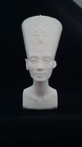 Bust of Nefertiti-Real 3D-SCAN 3D Print 27493