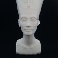 Small Bust of Nefertiti-Real 3D-SCAN 3D Printing 27493