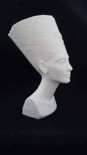 Bust of Nefertiti-Real 3D-SCAN 3D Print 27494