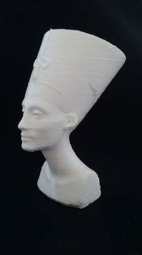 Bust of Nefertiti-Real 3D-SCAN 3D Print 27495