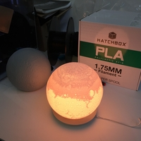 Small Lunar Lamp Hack 3D Printing 27499