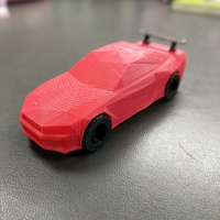 Small Low-Poly Nissan Skyline R34 GTR 3D Printing 27556
