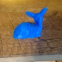 Small Low Poly Fawn (1) 3D Printing 27570