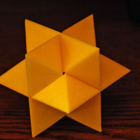 Small Star 6 Puzzle 3D Printing 2758