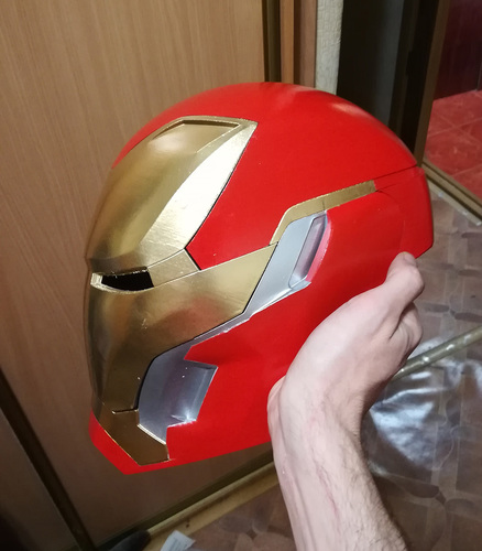 Iron Man Mark 50 Infinity War helmet 3D Print 27607