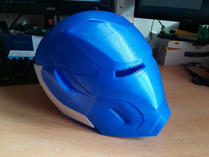 Iron Man Mark 50 Infinity War helmet 3D Print 27608